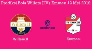 Prediksi Bola Willem II Vs Emmen 12 Mei 2019