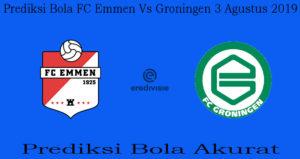 Prediksi Bola FC Emmen Vs Groningen 3 Agustus 2019