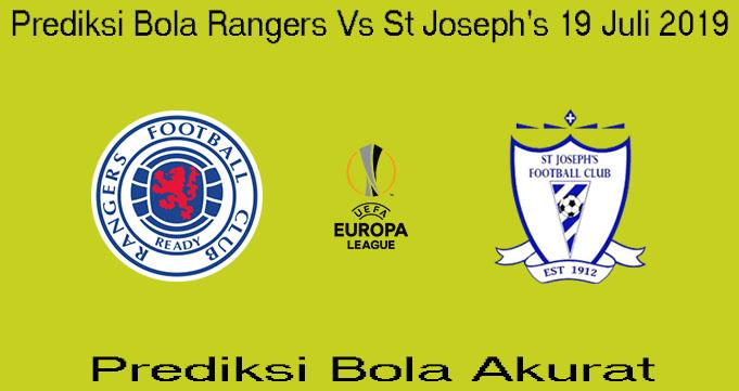 Prediksi Bola Rangers Vs St Joseph's 19 Juli 2019
