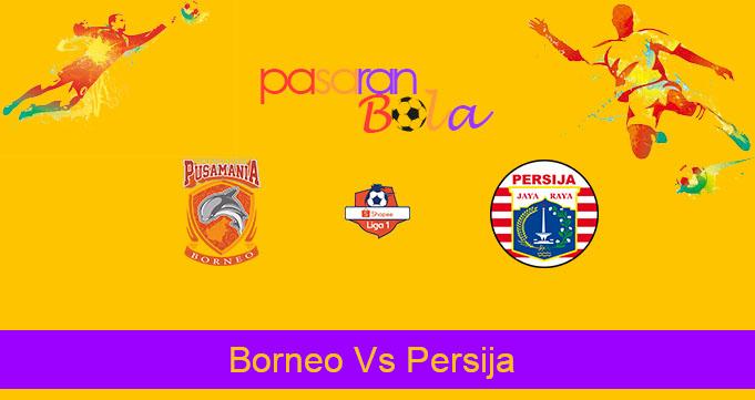 Prediksi Bola Borneo Vs Persija 27 September 2019