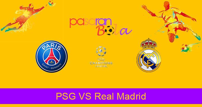 Prediksi Bola PSG VS Real Madrid 19 September 2019