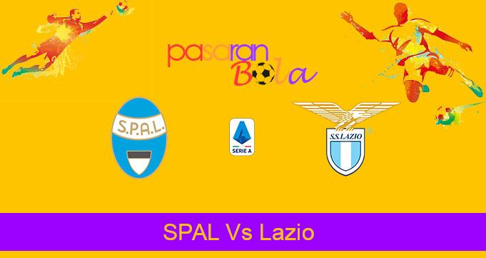 Prediksi Bola SPAL Vs Lazio 15 September 2019