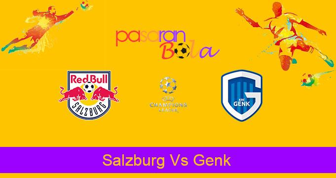 Prediksi Bola Salzburg Vs Genk 18 September 2019