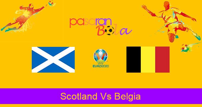 Prediksi Bola Scotland Vs Belgia 10 September 2019