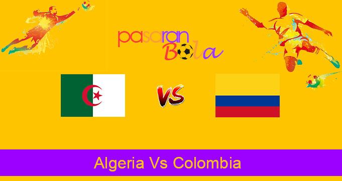 Prediksi Bola Algeria Vs Colombia 16 Oktober 2019