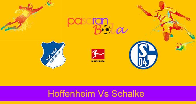 Prediksi Bola Hoffenheim Vs Schalke 20 Oktober 2019