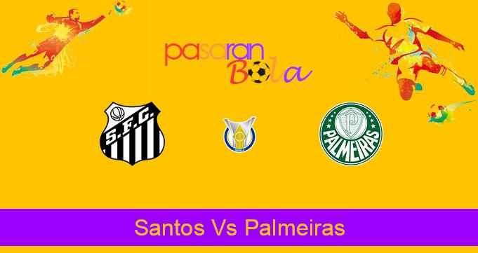 Prediksi Bola Santos Vs Palmeiras 10 Oktober 2019