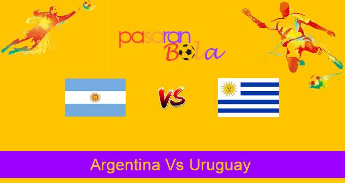 Prediksi Bola Argentina Vs Uruguay 19 November 2019