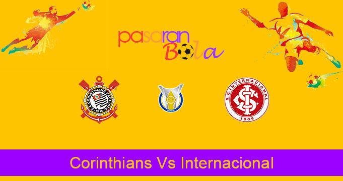 Prediksi Bola Corinthians Vs Internacional 18 November 2019