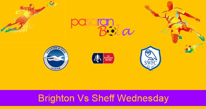 Prediksi Bola Brighton Vs Sheff Wednesday 4 Januari 2020