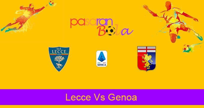 Prediksi Bola Lecce Vs Genoa 8 Desember 2019
