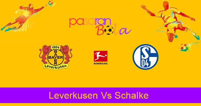 Prediksi Bola Leverkusen Vs Schalke 8 Desember 2019