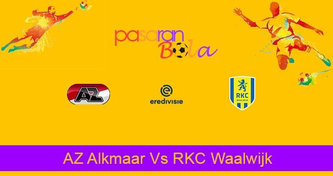 Prediksi Bola AZ Alkmaar Vs RKC Waalwijk 1 Februari 2020