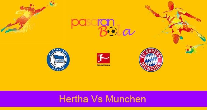 Prediksi Bola Hertha Vs Munchen 19 Januari 2020