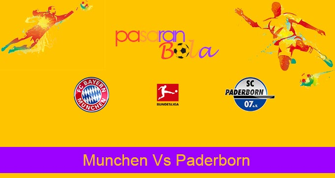 Prediksi Bola Munchen Vs Paderborn 22 Februari 2020