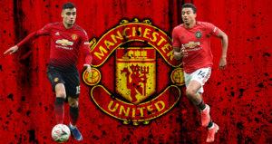Andreas Pereira dan Jesse Lingard Menuju Pintu Keluar Man United