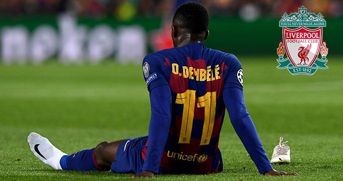 Liverpool Memantau Situasi Ousmane Dembele Di Barca