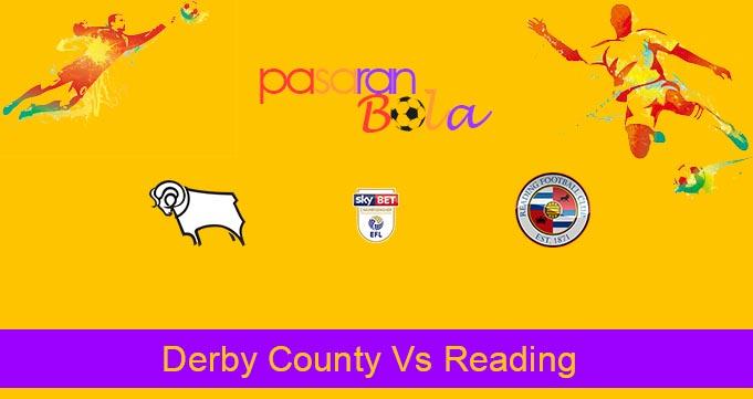 Prediksi Bola Derby County Vs Reading 18 Maret 2020