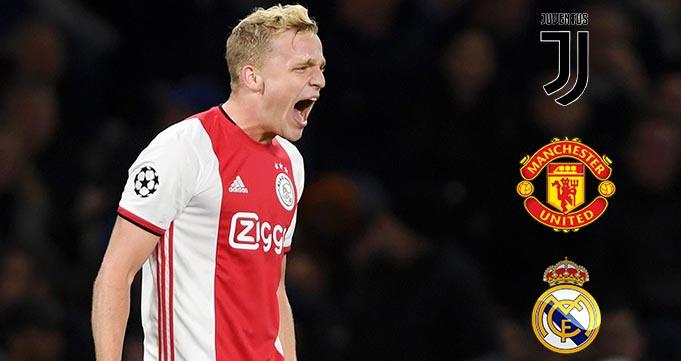 Ajax Siap Lepas Gelandang Donny van de Beek