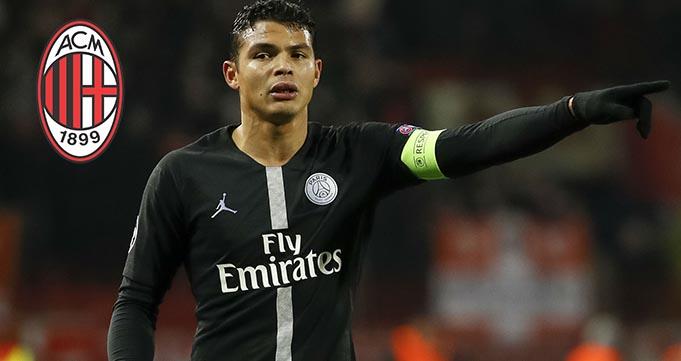 Bek PSG Thiago Silva Berniat Kembali Ke Italia