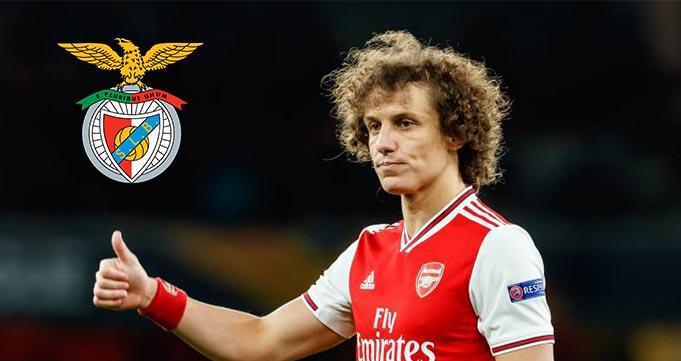 David Luiz Ingin Mengakhiri Karier Bersama Benfica