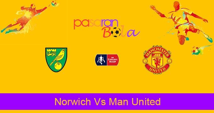 Prediksi Bola Norwich Vs Man United 28 Juni 2020