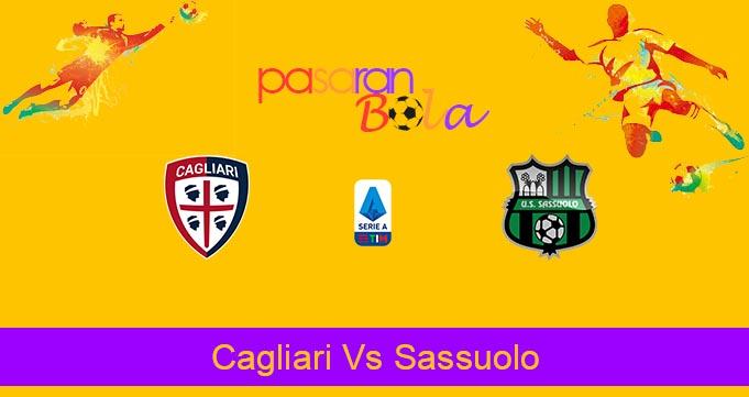 Prediksi Bola Cagliari Vs Sassuolo 19 Juli 2020