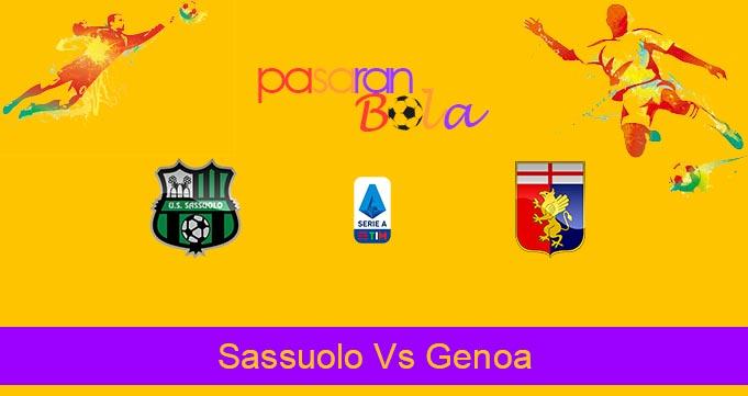 Prediksi Bola Sassuolo Vs Genoa 30 Juli 2020