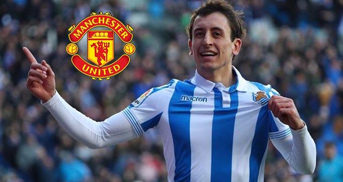 Winger Mikel Oyarzabal Target Baru Man United