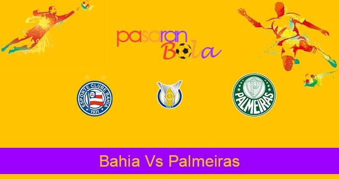 Prediksi Bola Bahia Vs Palmeiras 30 Agustus 2020
