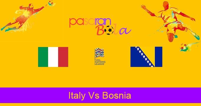 Prediksi Bola Italy Vs Bosnia 5 September 2020