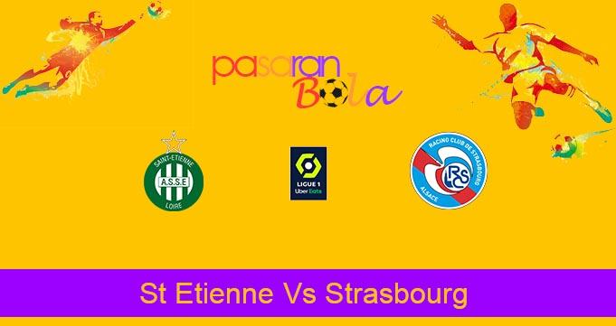 Prediksi Bola St Etienne Vs Strasbourg 13 September 2020