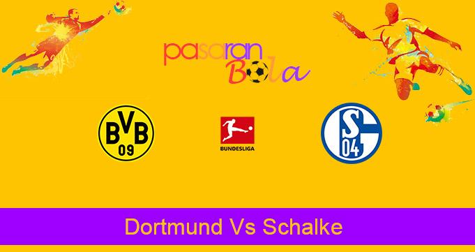Prediksi Bola Dortmund Vs Schalke 24 Oktober 2020