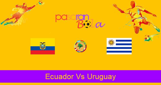 Prediksi Bola Ecuador Vs Uruguay 14 Oktober 2020