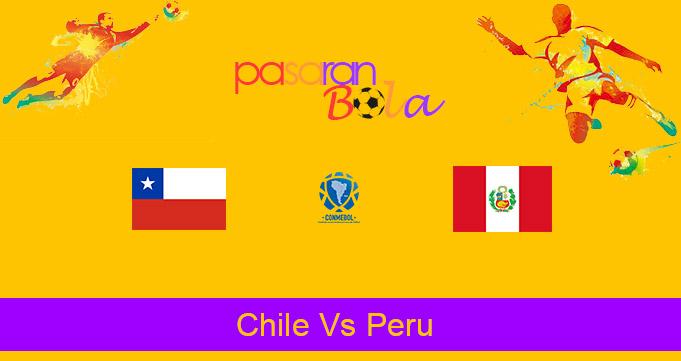 Prediksi Bola Chile Vs Peru 14 November 2020