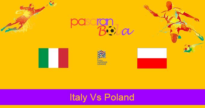 Prediksi Bola Italy Vs Poland 16 November 2020