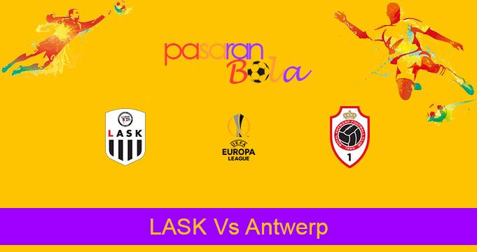 Prediksi Bola LASK Vs Antwerp 27 November 2020