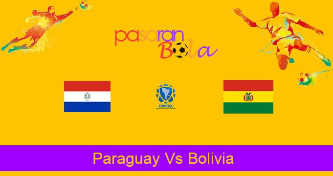 Prediksi Bola Paraguay Vs Bolivia 18 November 2020
