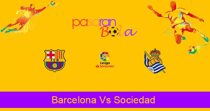 Prediksi Bola Barcelona Vs Sociedad 17 Desember 2020