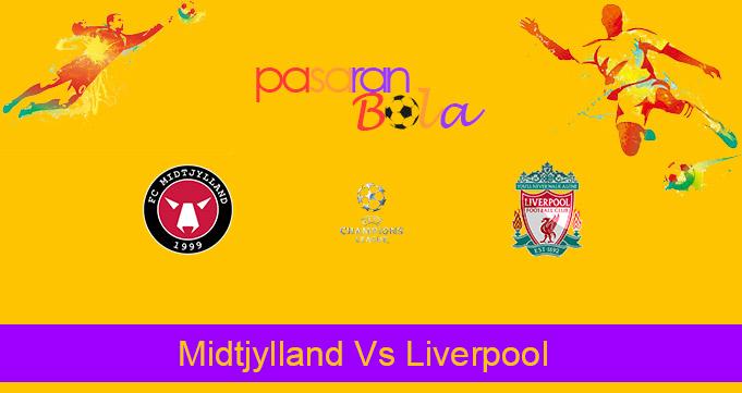 Prediksi Bola Midtjylland Vs Liverpool 10 Desember 2020