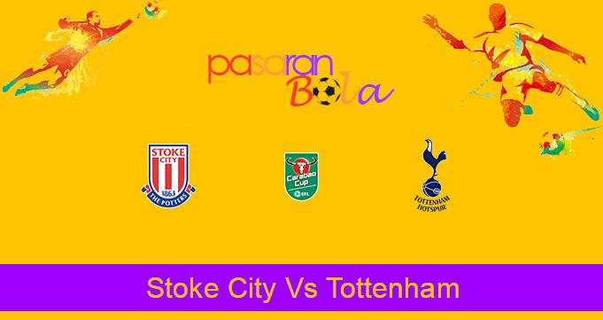Prediksi Bola Stoke City Vs Tottenham 24 Desember 2020