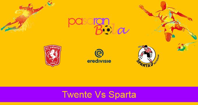 Prediksi Bola Twente Vs Sparta 23 Desember 2020