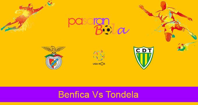 Prediksi Bola Benfica Vs Tondela 8 Januari 2021