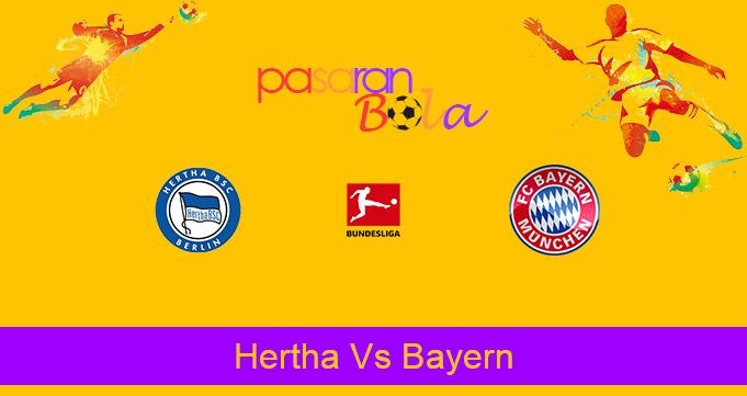 Prediksi Bola Hertha Vs Bayern 6 Februari 2021