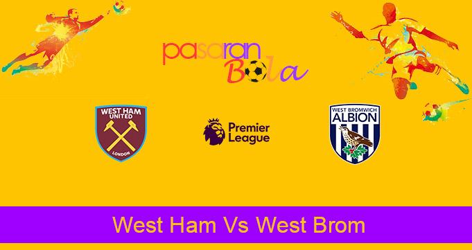 Prediksi Bola West Ham Vs West Brom 20 Januari 2021