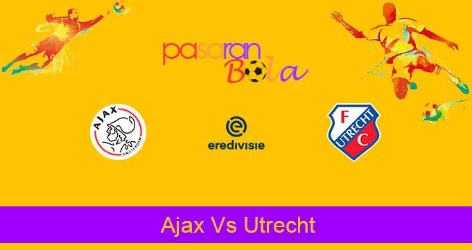 Prediksi Bola Ajax Vs Utrecht 7 Februari 2021