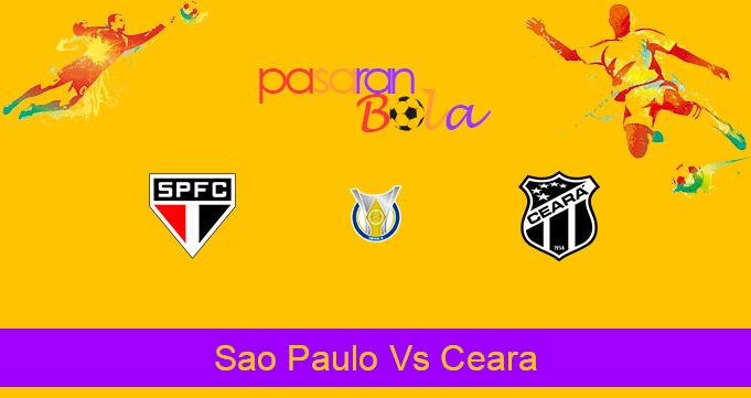 Prediksi Bola Sao Paulo Vs Ceara 11 Februari 2021