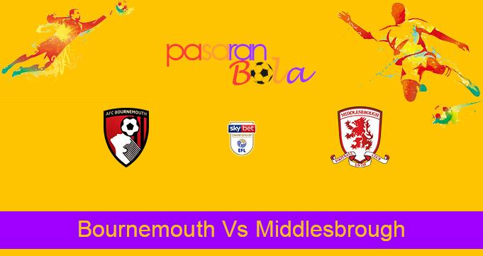 Prediksi Bola Bournemouth Vs Middlesbrough 2 April 2021