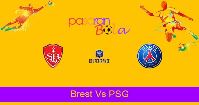 Prediksi Bola Brest Vs PSG 7 Maret 2021