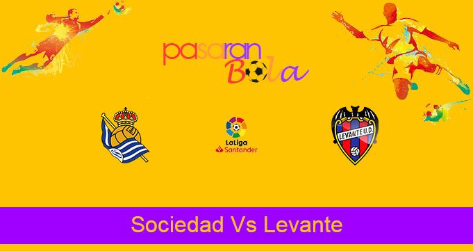 Prediksi Bola Sociedad Vs Levante 8 Maret 2021